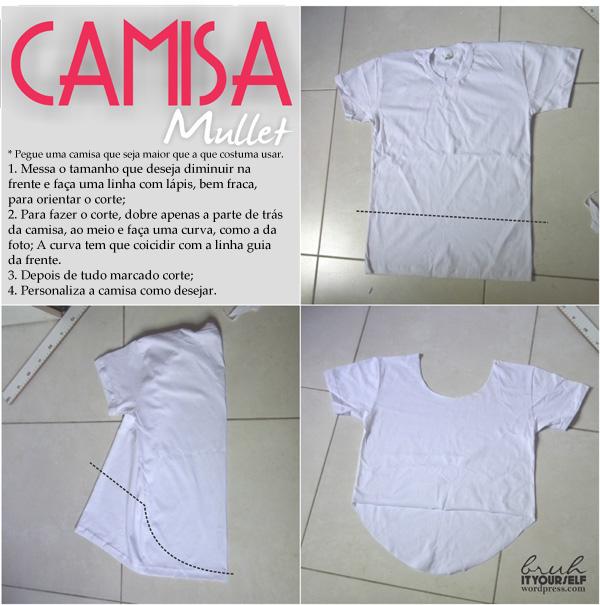BIY     Camisa Mullet