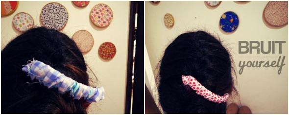 BIY Pente de cabelo